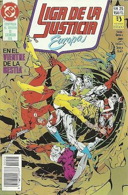 Liga de la Justicia Europa (1989-1992) (Grapa) #25