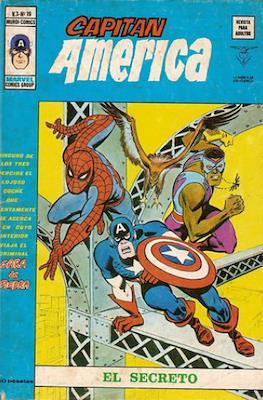 Capitán América Vol. 3 (1975-1980) (Grapa) #19