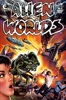Alien Worlds (Comic-Book) #8