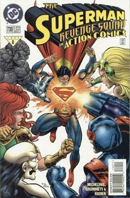 Action Comics Vol. 1 (1938-2011; 2016-) (Comic Book) #730