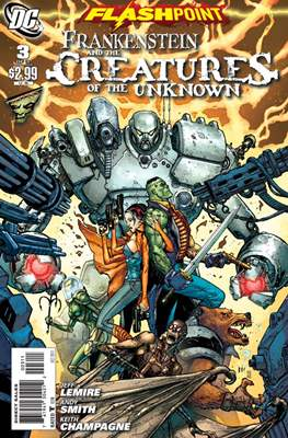 Flashpoint: Frankenstein and the Creatures of the Unknown (Comic Book) #3