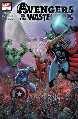Avengers of the Wastelands (Comic Book) #3