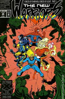 The New Warriors (Comic-Book) #34