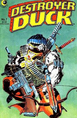 Destroyer Duck (Comic Book. 1982) #7
