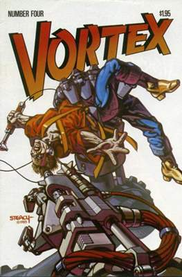 Vortex (Comic Book) #4