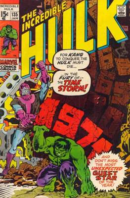 The Incredible Hulk Vol.1 (Saddle-stitched. 1962-1999) #135