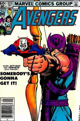 The Avengers Vol. 1 (1963-1996) (Grapa) #223