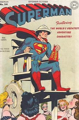 Superman Vol. 1 / Adventures of Superman Vol. 1 (1939-2011) (Comic Book) #54