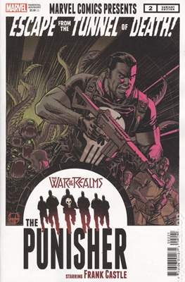 The War of the Realms: The Punisher (Variant Covers) (Comic Book) #2