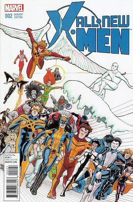 All-New X-Men Vol. 2 (Variant Cover) #2
