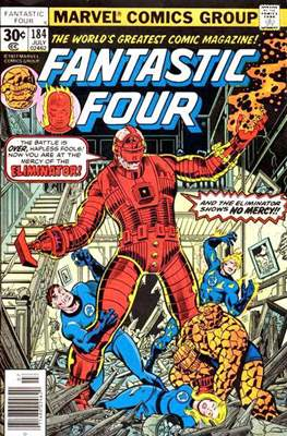 Fantastic Four Vol. 1 (1961-1996) (saddle-stitched) #184