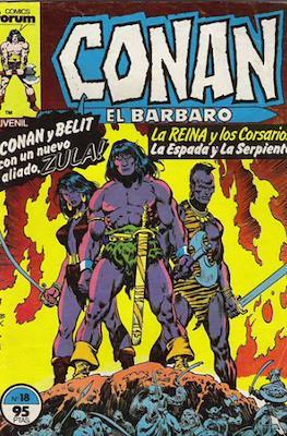 Conan el Bárbaro (1983-1994) (Grapa. 19x27. 36/32/24 páginas. Color.) #18