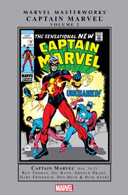 Marvel Masterworks: Captain Marvel (Hardcover) #2