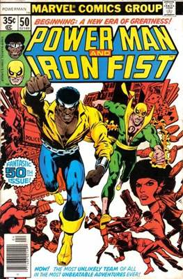 Hero for Hire / Power Man Vol 1 / Power Man and Iron Fist Vol 1 (Comic-Book) #50