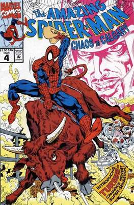 The Amazing Spider-Man: Drug Free Canada (Comic-book) #4