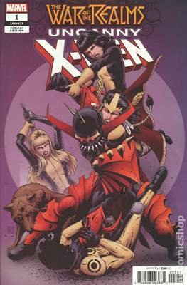 The War of the Realms: Uncanny X-Men (Variant Cover) (Comic Book) #1.2