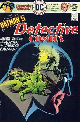 Detective Comics Vol. 1 (1937-2011; 2016-) (Comic Book) #457