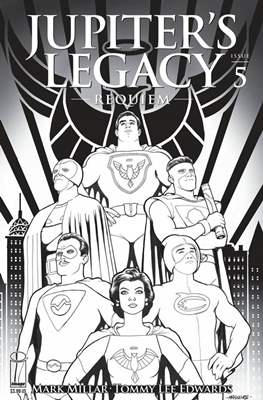 Jupiter's Legacy: Requiem (Variant Cover) #5.1