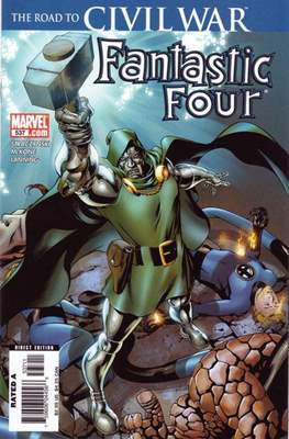 Fantastic Four Vol. 3 (Comic Book) #537