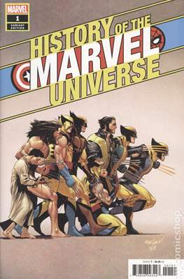 History of the Marvel Universe (Variant Cover) (Comic Book) #1.3