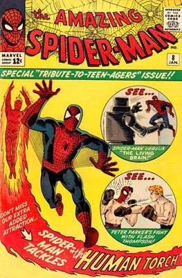 The Amazing Spider-Man Vol. 1 (1963-1998) #8