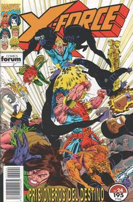 X-Force Vol. 1 (1992-1995) (Grapa 24-32 pp) #24