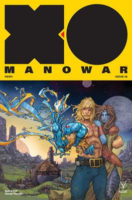 X-O Manowar Vol. 4 (2017-2019) #26