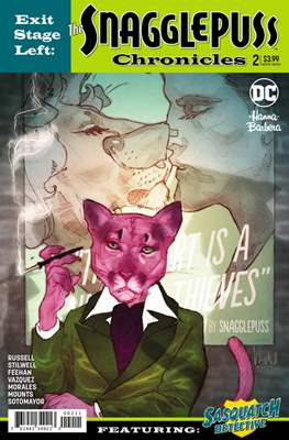 Exit Stage Left: The Snagglepuss Chronicles (Comic Book) #2