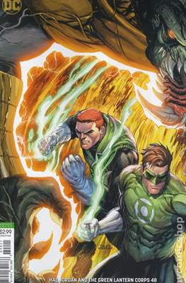 Hal Jordan and the Green Lantern Corps (Vol. 1 2016-2018 Variant Cover) (Comic Book) #48