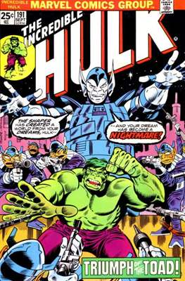 The Incredible Hulk Vol. 1 (1962-1999) (Comic Book) #191