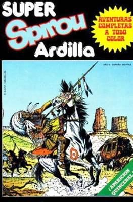 Super Spirou Ardilla (Grapa 64 pp) #6
