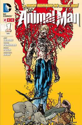 Animal Man. Nuevo Universo DC (Rústica 144-184 pp) #1