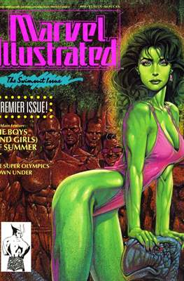 Marvel Illustrated: The Swimsuit Issue