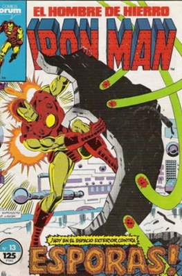 Iron Man Vol. 1 / Marvel Two-in-One: Iron Man & Capitán Marvel (1985-1991) (Grapa, 36-64 pp) #13