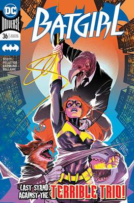 Batgirl Vol. 5 (2016-) (Comic Book) #36