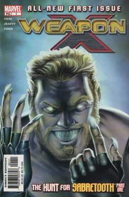 Weapon X Vol. 2 (2002-2004) (Comic Book) #1