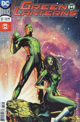 Green Lanterns (Vol. 1 2016-... Variant Covers) (Comic Book) #37