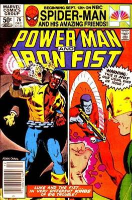 Hero for Hire / Power Man Vol 1 / Power Man and Iron Fist Vol 1 (Comic-Book) #76