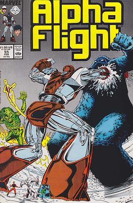 Alpha Flight vol. 1 (1983-1994) (Comic Book) #55