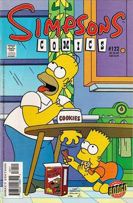 Simpsons Comics (Grapa) #122