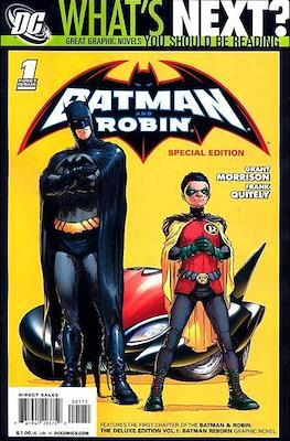 Batman and Robin Vol. 1 (2009-2011) #1.1