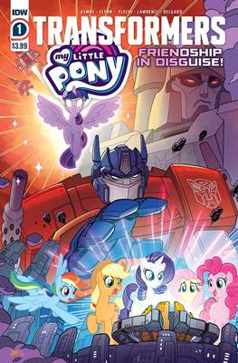 Transformers & My Little Pony: Friendship in Disguise