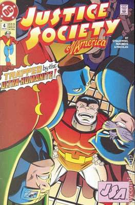 Justice Society of America Vol. 2 (1992-1993) #4