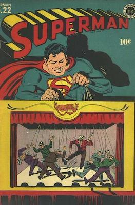 Superman Vol. 1 / Adventures of Superman Vol. 1 (1939-2011) (Comic Book) #22