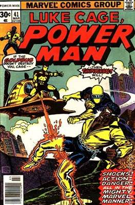 Hero for Hire / Power Man Vol 1 / Power Man and Iron Fist Vol 1 (Comic Book) #41