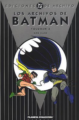 Los Archivos de Batman (Cartoné) #3