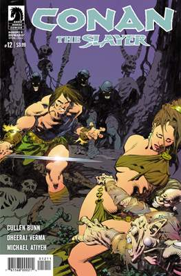 Conan The Slayer (Comic-book) #12