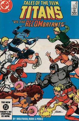 The New Teen Titans / Tales of the Teen Titans Vol. 1 (1980-1988) (Comic book) #48