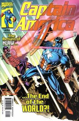 Captain America Vol. 3 (1998-2002) (Comic Book) #22