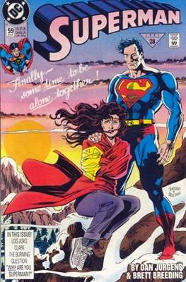Superman Vol. 2 (1987-2006) (Comic Book) #59